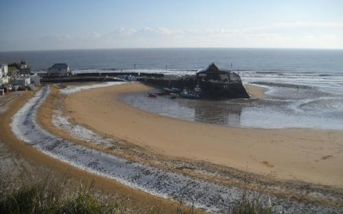 Broadstairs - Neve in spiaggia