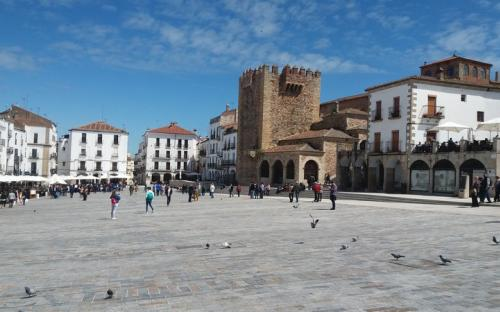 Càceres - Plaza Mayor