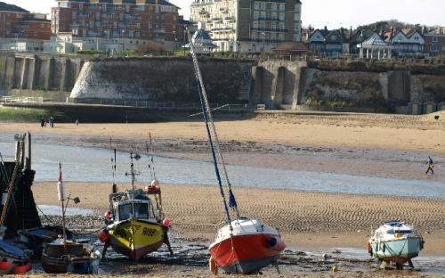 Bassa marea a Broadstairs